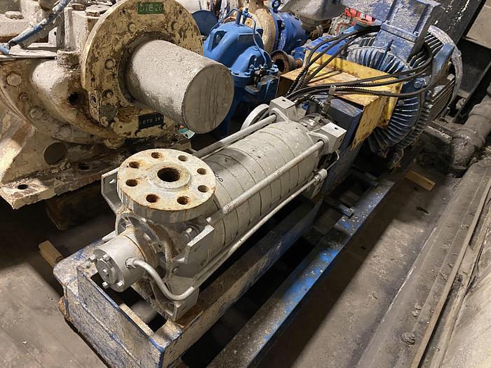 Used CARVER PUMP TYPE RS9B 3 X2X6 PUMP  125HP