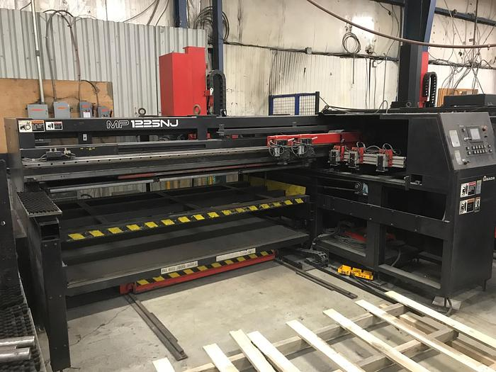 Used 2001 2001 Amada MP-1225NJ Sheet Loader