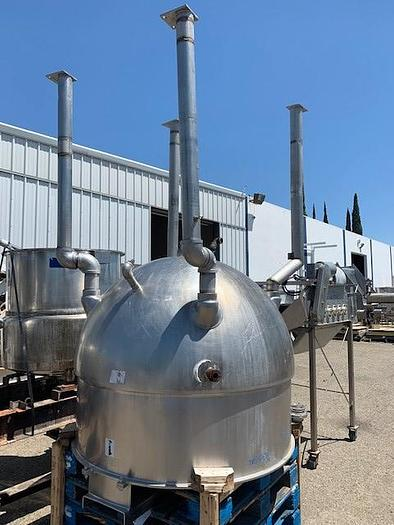300 Gallon Groen Jacketed Steam Mix Kettle with Sweep Surface Agitation NEM-300