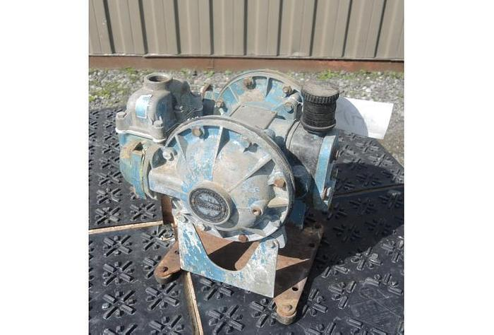 """USED DIAPHRAGM PUMP, 1"""" X 1"""" INLET & OUTLET, ALUMINUM"""