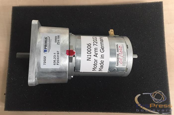 Grafoteam Motor for PST-26 Platestacker
