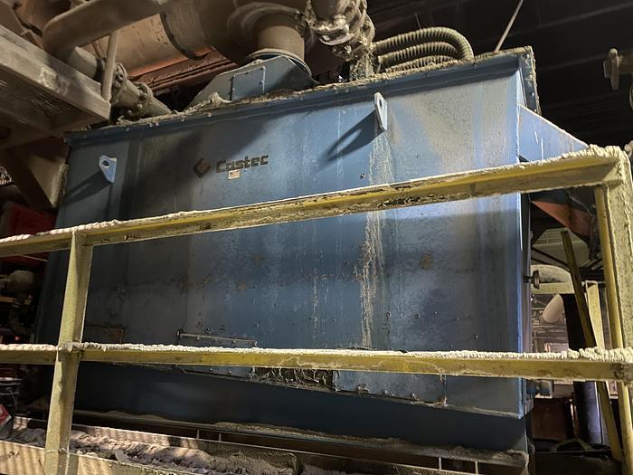 Used CASTEC SAND COOLER/CLASSIFIER