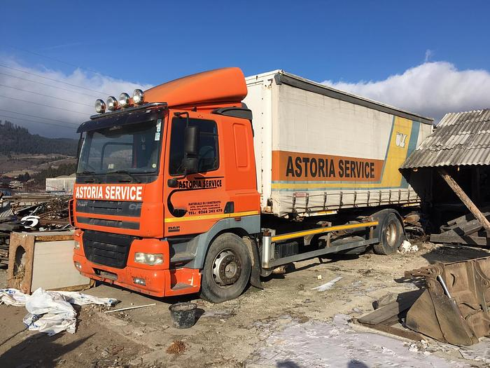 Used 2001 DAF 85 CF 340 MANUAL EURO 3
