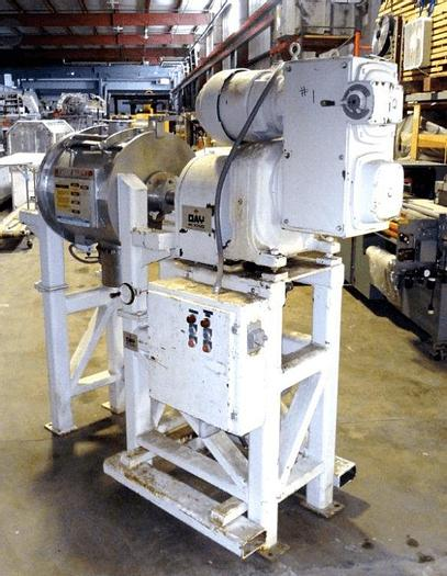 Used 3.5 CU. FT. JH DAY TURBULENT MIXER – S/S – WITH HIGH SPEED CHOPPER