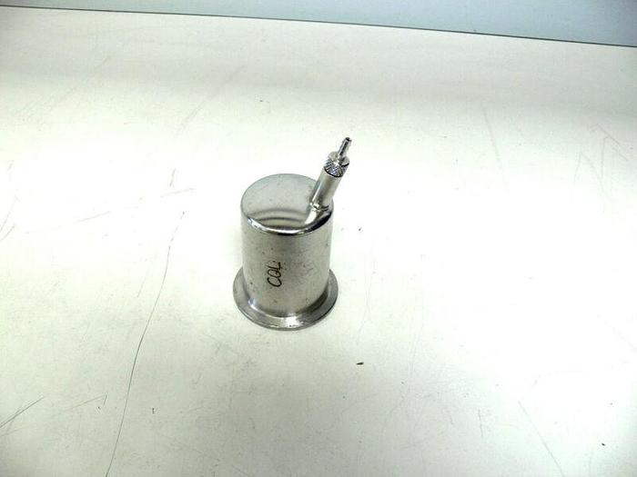 """Used 3"""" Stainless Steel Filter Housing w/ 1/8"""" Hose Fitting"""