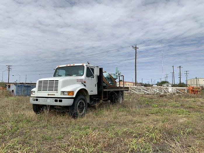 Used GASO Pump Truck = DUPLEX PUMPS