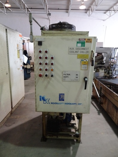 BLOHM PLANOMAT MODEL 408 CNC CREEP FEED GRINDER
