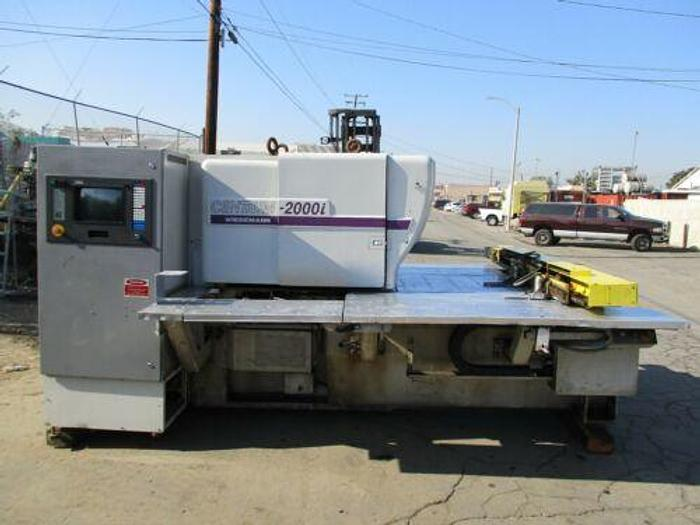 COMPLETE WEIDEMANN CENTRUM 2000 i 22 TON CNC TURRET PUNCH PRESS SOLD AS IS