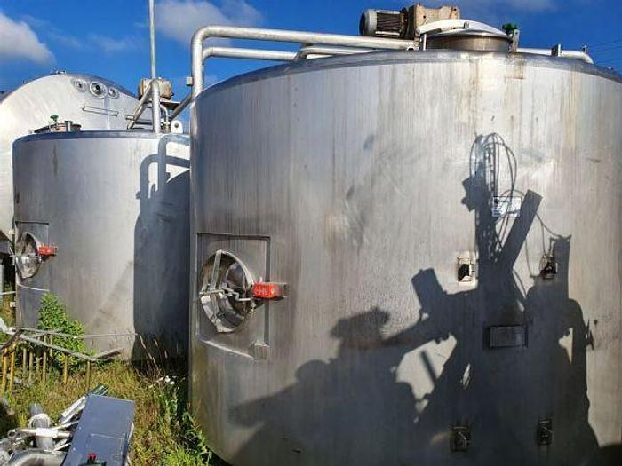 Used Blackwater 10,000 Litre Cream Aging Tank