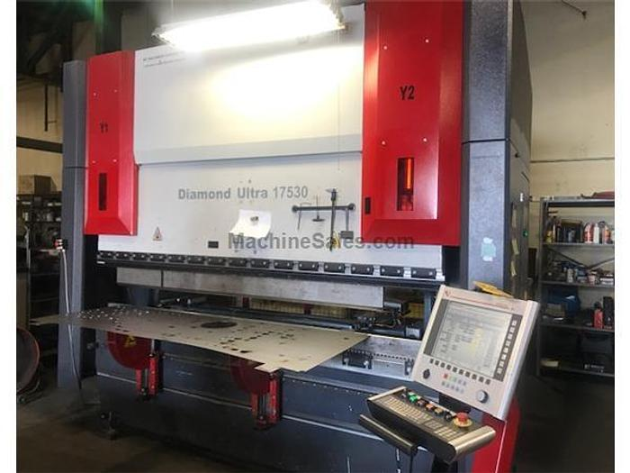 2013 175 Ton Mitsubishi/Dener DU-175 CNC Hydraulic Press Brake