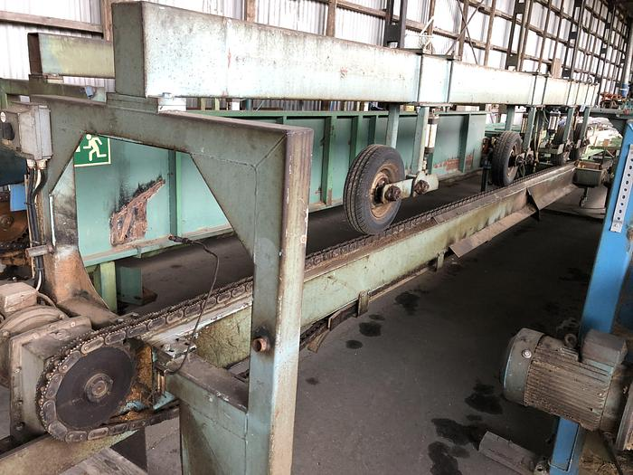 Used Conveyor after saw