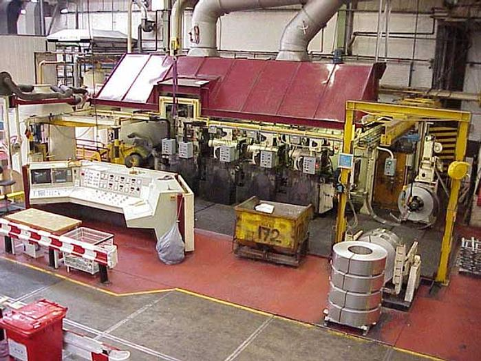 300mm Frohling 4-Stand 4-Hi Tandem Rolling Mill: RM-444