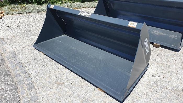 Schwergutschaufel 240 cm passend zu Merlo Aufnahme