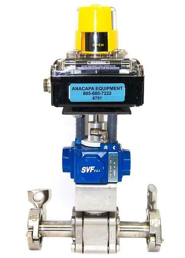 Used Intellis Network Monitor 7000 Compact H15 SR-1B2Z I/90 Actuator Ball Valve (6751