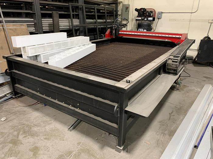 Used 2017 5' x 10' Lincoln Torchmate X Plasma Cutting System