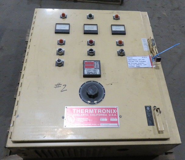 1994 THERMTRONIX LSF-1200 ELECTRIC RESISTANCE FURNACE 1200#
