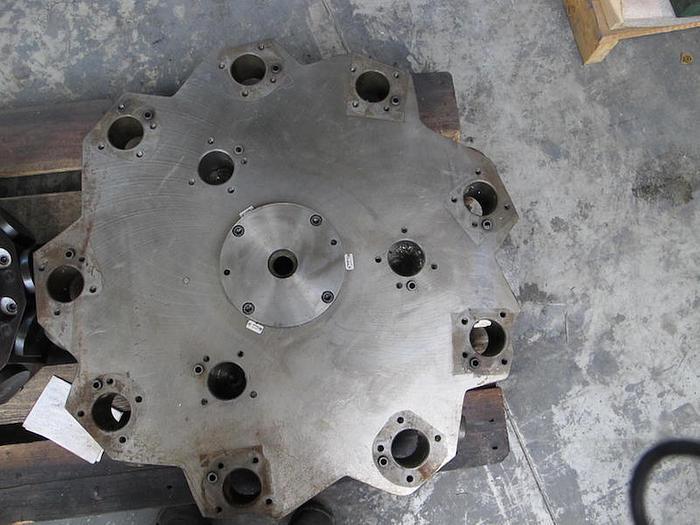 Gebraucht Werkzeugrevolverscheibe fuer 12 Werkzeuge Durchmesser 82mm