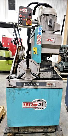 Used Kalamazoo Vertical Column Cold Saw C 360 SA
