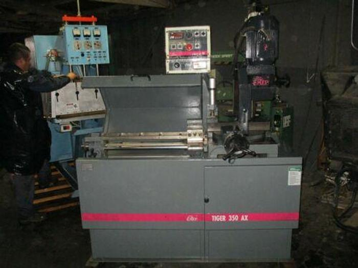 MEP / DAKE MODEL TIGER 350 AX AUTOMATIC COLD SAW 14 INCH WITH MITER
