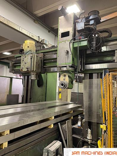 Used Butler Double Column Plano Miller 8m x 2m