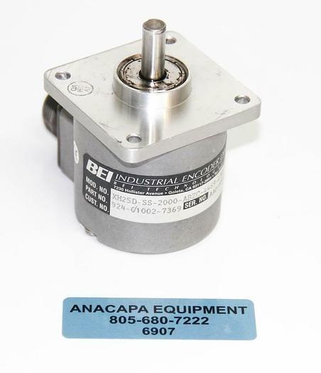 Used BEI XH25D-SS-2000-ABZC-4469-LED-SM18 924-01002-7369 Sensata Express Encoder 6907