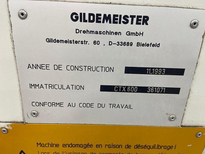 1994 Gildermiester   CXT 600 CTX -600