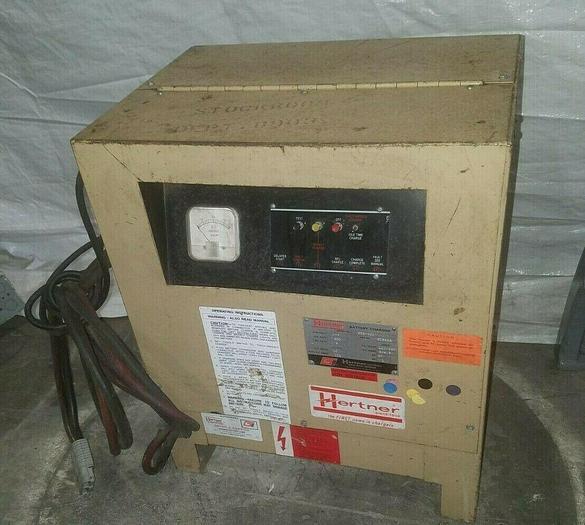 Used Hertner Battery Charger Model SD6 600 12 Volt 111 AMPS