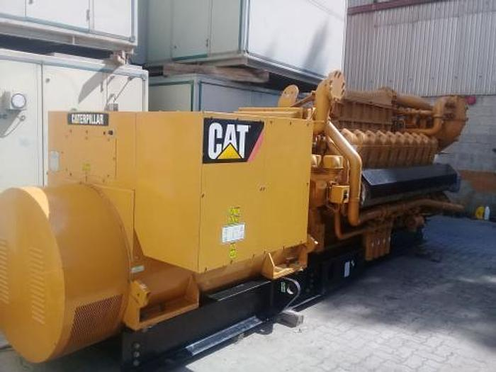 2 MW 2014 New Caterpillar G3520C Natural Gas Generator Set