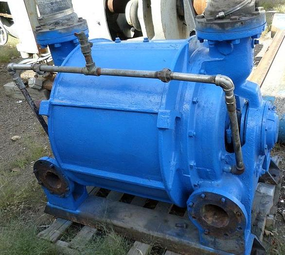 Used NASH CL2001 VACUUM PUMP 2000 CFM