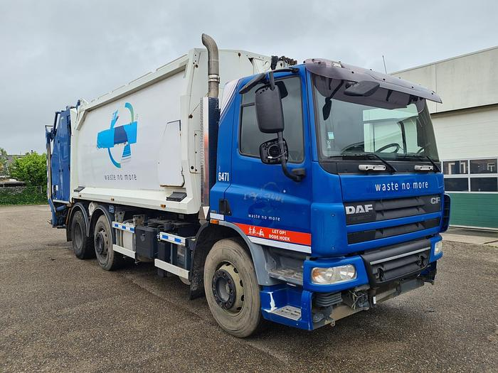 Used DAF CF75 6x2 Garbage Truck Geesink Structure