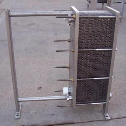 Used MUELLER AT10 DMF-81 PLATE COOLER HEAT EXCHANGER with NEW GASKETS #88C22321 - Cooling Equipment Equipment