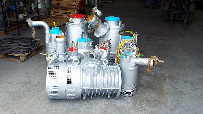 Selection of Pumps available