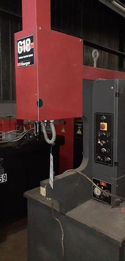 Used 2002 6 Ton Haeger 618 Plus Hardware Insertion Press