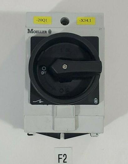 Used *PREOWNED* MOELLER T0-2-1 DISCONNECT SWITCH W/ ENCLOSURE + WARRANTY!