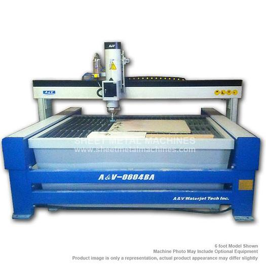 A&V WATERJET 6' x 4' Cutting Table AV0604