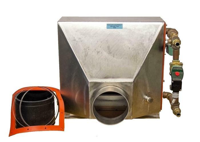 Used Air Water Heat Exchange 208V Stainless Steel w/ Solenoid Valves USED (8958) R