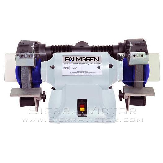 PALMGREN Heavy Duty Bench Grinder 9682081