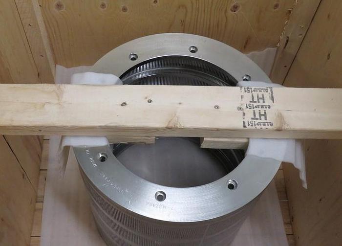 Used FIBERPREP SPM400 SCREEN BASKET 0.10MM SLOTS