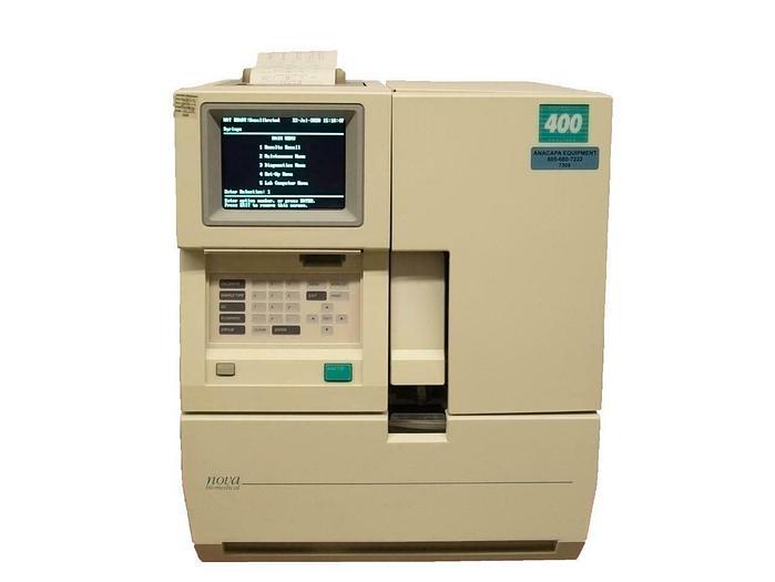 Used Nova Biomedical Bioprofile 400 Cell Culture Analyzer AutoSampler, Printer (7309)