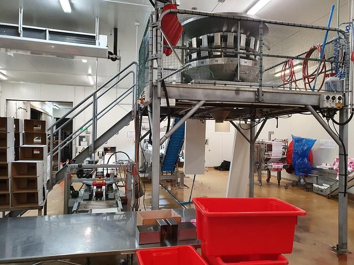 Used YAMATO 20 head weigher Dataweigh ADW-420 MWH