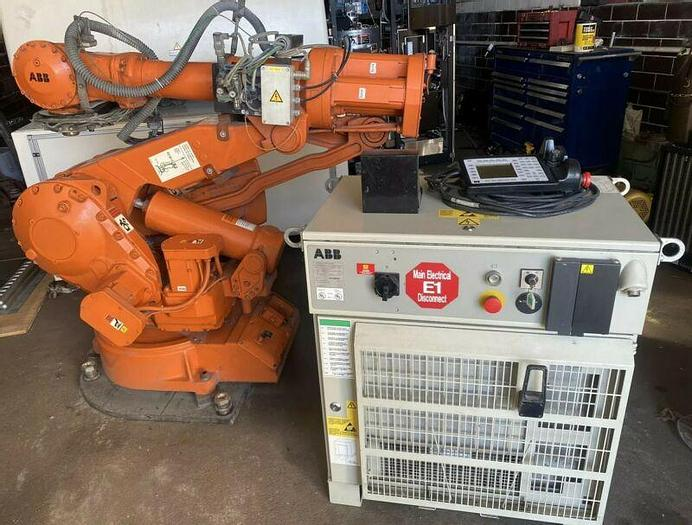Used ABB Robot IRB 4400 M2000 45KG Complete With Controller And Pendant Warranty