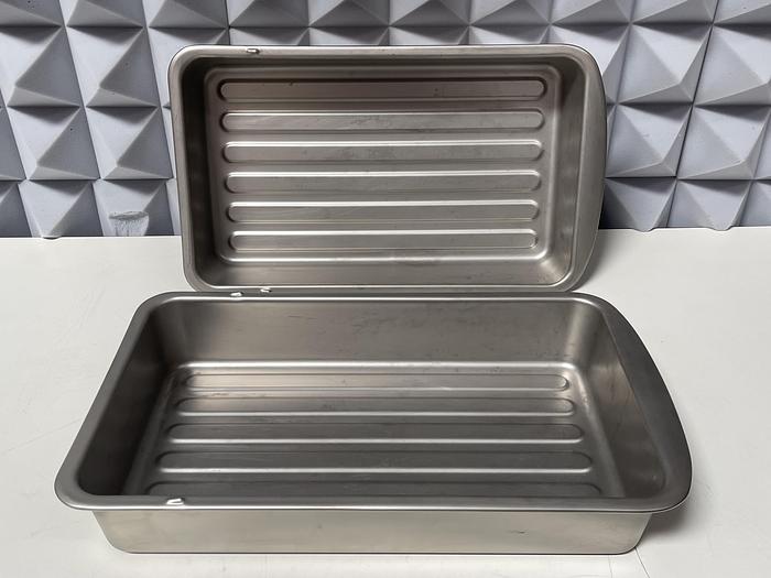 Used Lot of 2- Sub Zero Pro 3414350 Stainless Steel Refrigerator Bin