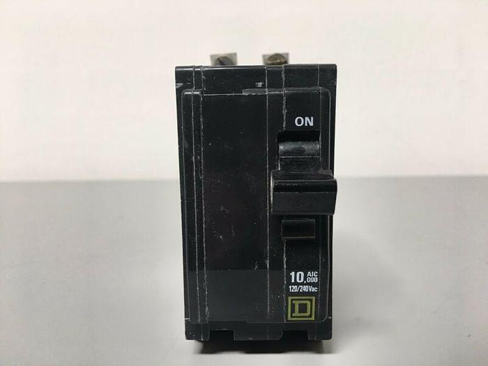 Used Square D RS-9991 2 Pole Circuit Breaker 120/240V 30 Amp 10,000 AIC