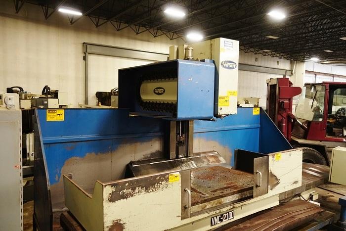 1997 Viper 2100 Vertical Machining Center CNC Milling Machine