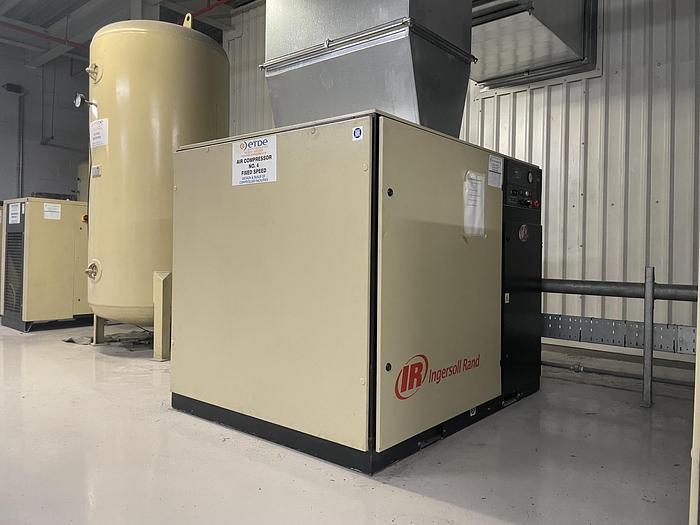 Used INGERSOLL RAND UP5-30-10 Air Compressor