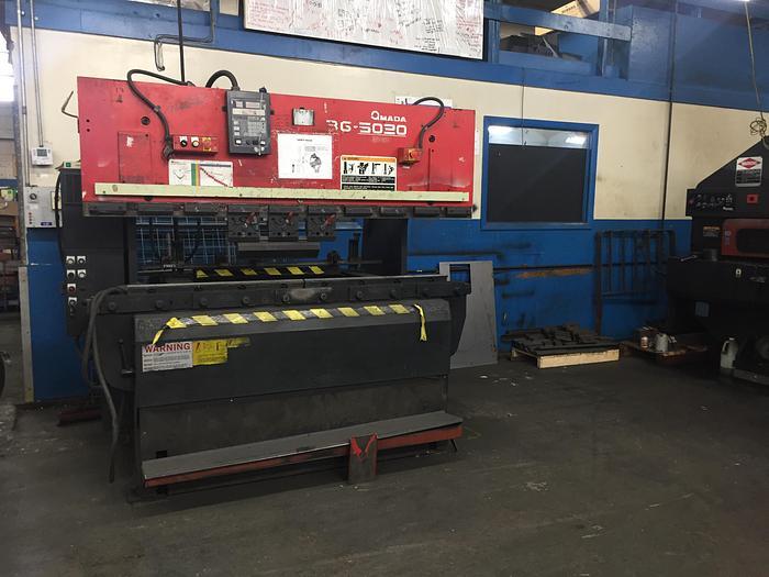 55 Ton Amada RG-5020LD Press Brake