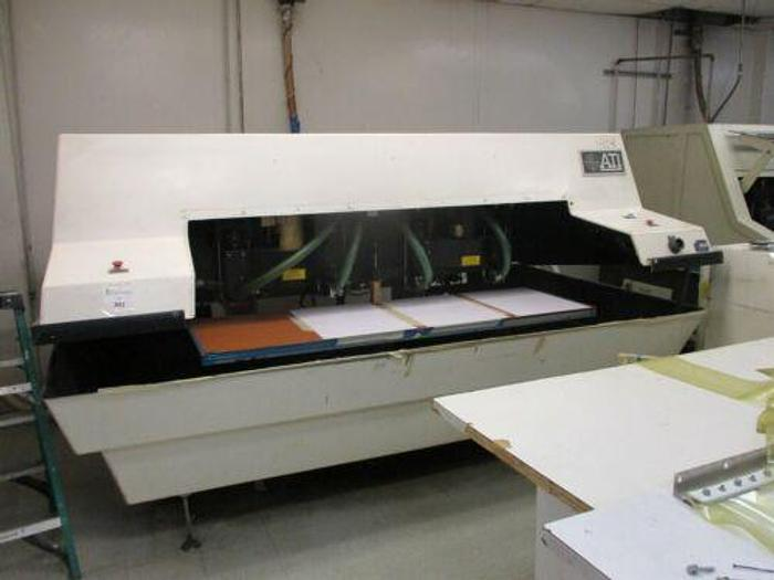 Used ATI MODEL 404CM 4 SPINDLE HIGH SPEED CNC ROUTER /CIRCUIT BOARD DRILL