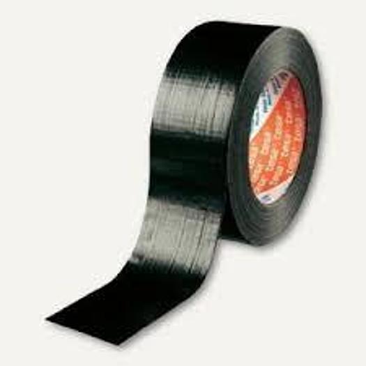 58 Stück Premium Klebeband, 4104 00081 00 Tesa schwarz/rot, Tesa,  neu