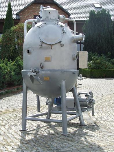 Used Aparat próżniowy pojemność 1.500 l - WWA 10
