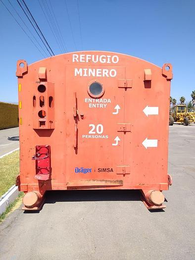 2011 REFUGIO MINERO 20 PERSONAS CHAMBER REF